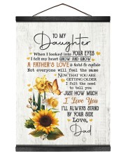 I'LL ALWAYS STAND BY YOUR SIDE Hanging Canvas tile