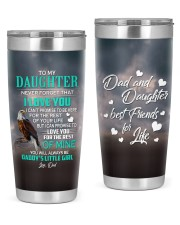 I LOVE YOU - GREAT GIFT FOR DAUGHTER 20oz Tumbler front