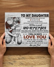 BELIEVE IN YOURSELF - AMAZING GIFT FOR DAUGHTER 14x11 Gallery Wrapped Canvas Prints aos-canvas-pgw-14x11-lifestyle-front-34