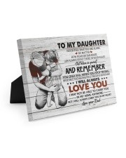 BELIEVE IN YOURSELF - AMAZING GIFT FOR DAUGHTER 10x8 Easel-Back Gallery Wrapped Canvas thumbnail