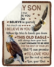 I LOVE YOU - GREAT GIFT FOR SON Sherpa Fleece Blanket tile