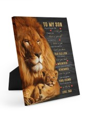 BELIEVE IN YOURSELF - BEST GIFT FOR SON Easel-Back Gallery Wrapped Canvas tile