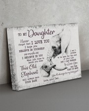 THIS OLD ELEPHANT - PERFECT GIFT FOR DAUGHTER 14x11 Gallery Wrapped Canvas Prints aos-canvas-pgw-14x11-lifestyle-front-15