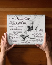 THIS OLD ELEPHANT - PERFECT GIFT FOR DAUGHTER 14x11 Gallery Wrapped Canvas Prints aos-canvas-pgw-14x11-lifestyle-front-27