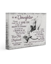 THIS OLD ELEPHANT - PERFECT GIFT FOR DAUGHTER 14x11 Gallery Wrapped Canvas Prints front