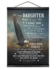 BELIEVE IN YOURSELF - BEST GIFT FOR DAUGHTER Hanging Canvas tile