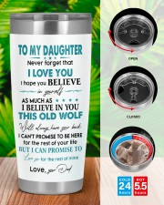 I LOVE YOU - LOVELY GIFT FOR DAUGHTER 20oz Tumbler aos-20oz-tumbler-lifestyle-front-46