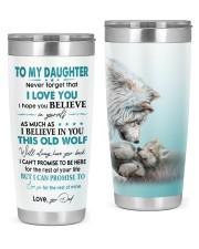 I LOVE YOU - LOVELY GIFT FOR DAUGHTER 20oz Tumbler front