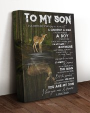 YOU ARE MY SON - TO SON FROM DAD 11x14 Gallery Wrapped Canvas Prints aos-canvas-pgw-11x14-lifestyle-front-17