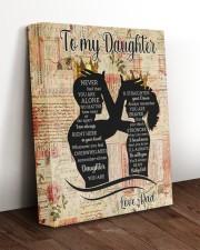 STRAIGHTEN YOUR CROWN - LOVELY GIFT FOR DAUGHTER 11x14 Gallery Wrapped Canvas Prints aos-canvas-pgw-11x14-lifestyle-front-17