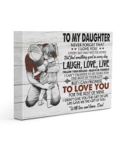 THE GIFT OF LIFE - AMAZING GIFT FOR DAUGHTER 14x11 Gallery Wrapped Canvas Prints front
