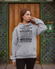YES I'M A STUBBORN DAUGHTER Hooded Sweatshirt apparel-hooded-sweatshirt-lifestyle-02