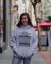 YES I'M A STUBBORN DAUGHTER Hooded Sweatshirt lifestyle-unisex-hoodie-front-2