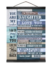 YOU CAN STEER YOURSELF - LOVELY GIFT FOR DAUGHTER Hanging Canvas tile