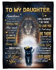 I LOVE YOU - GREAT GIFT FOR DAUGHTER Fleece Blanket tile
