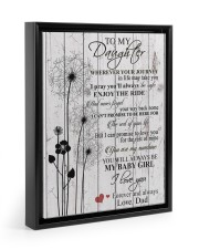 1 DAY LEFT - GET YOURS NOW 11x14 Black Floating Framed Canvas Prints thumbnail