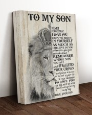 MY BABY BOY - TO SON FROM DAD 11x14 Gallery Wrapped Canvas Prints aos-canvas-pgw-11x14-lifestyle-front-17