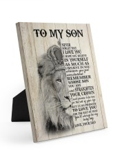MY BABY BOY - TO SON FROM DAD Easel-Back Gallery Wrapped Canvas tile