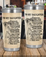 NEVER FORGET THAT I LOVE YOU 20oz Tumbler aos-20oz-tumbler-lifestyle-front-56