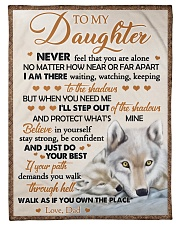 JUST DO YOUR BEST - BEST GIFT FOR DAUGHTER Fleece Blanket tile