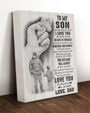 BELIEVE IN YOURSELF - TO SON FROM DAD 11x14 Gallery Wrapped Canvas Prints aos-canvas-pgw-11x14-lifestyle-front-17
