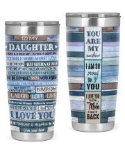 I LOVE YOU FOREVER AND ALWAYS 20oz Tumbler front