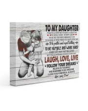 FOLLOW YOUR DREAMS - LOVELY GIFT FOR DAUGHTER 14x11 Gallery Wrapped Canvas Prints front