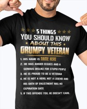 5 THINGS YOU SHOULD KNOW ABOUT THIS GRUMPY VETERAN Classic T-Shirt apparel-classic-tshirt-lifestyle-front-92