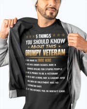 5 THINGS YOU SHOULD KNOW ABOUT THIS GRUMPY VETERAN Classic T-Shirt apparel-classic-tshirt-lifestyle-front-93