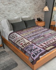 """1 DAY LEFT - GET YOURS NOW Large Sherpa Fleece Blanket - 60"""" x 80"""" aos-sherpa-fleece-blanket-lifestyle-front-04"""