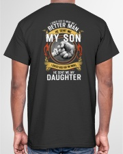 MAKE ME A BETTER MAN - PERFECT GIFT FOR DAD Classic T-Shirt garment-tshirt-unisex-back-04