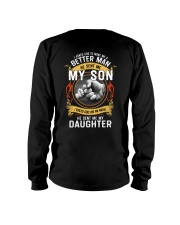 MAKE ME A BETTER MAN - PERFECT GIFT FOR DAD Long Sleeve Tee tile