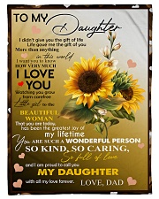 I AM PROUD TO CALL YOU MY DAUGHTER Fleece Blanket tile