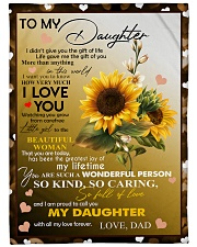 "I AM PROUD TO CALL YOU MY DAUGHTER Large Fleece Blanket - 60"" x 80"" front"