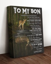 YOUR WAY BACK HOME - SPECIAL GIFT FOR SON 11x14 Gallery Wrapped Canvas Prints aos-canvas-pgw-11x14-lifestyle-front-17
