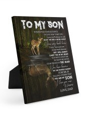 YOUR WAY BACK HOME - SPECIAL GIFT FOR SON Easel-Back Gallery Wrapped Canvas tile