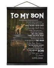 YOUR WAY BACK HOME - SPECIAL GIFT FOR SON Hanging Canvas tile