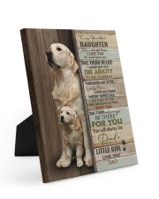 ONE THING IN LIFE - LOVELY GIFT FOR DAUGHTER Easel-Back Gallery Wrapped Canvas tile