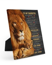BELIEVE IN YOURSELF - BEST GIFT FOR DAUGHTER Easel-Back Gallery Wrapped Canvas tile