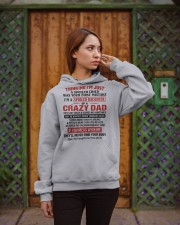 I'M A SPOILED DAUGHTER OF A CRAZY DAD Hooded Sweatshirt apparel-hooded-sweatshirt-lifestyle-02
