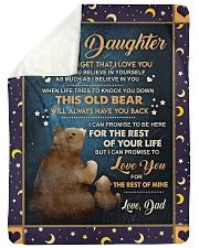 BELIEVE IN YOURSELF - LOVELY GIFT FOR DAUGHTER Sherpa Fleece Blanket tile