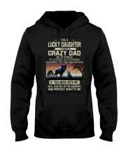 HE'LL STEP OUT OF THE SHADOWS Hooded Sweatshirt tile