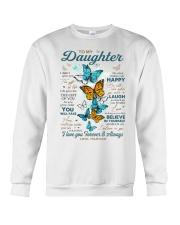 BELIEVE IN YOURSELF - DAD TO DAUGHTER Crewneck Sweatshirt tile