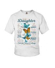 BELIEVE IN YOURSELF - DAD TO DAUGHTER Youth T-Shirt tile