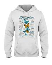 BELIEVE IN YOURSELF - DAD TO DAUGHTER Hooded Sweatshirt tile