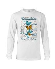 BELIEVE IN YOURSELF - DAD TO DAUGHTER Long Sleeve Tee tile