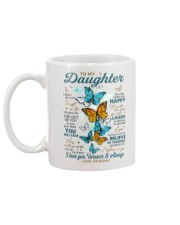 BELIEVE IN YOURSELF - DAD TO DAUGHTER Mug back
