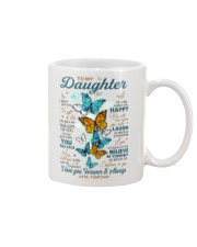 BELIEVE IN YOURSELF - DAD TO DAUGHTER Mug front