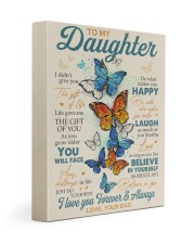 BELIEVE IN YOURSELF - DAD TO DAUGHTER Gallery Wrapped Canvas Prints tile