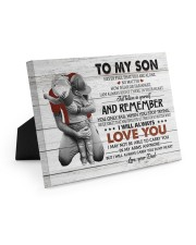 BELIEVE IN YOURSELF - AMAZING GIFT FOR SON 10x8 Easel-Back Gallery Wrapped Canvas thumbnail